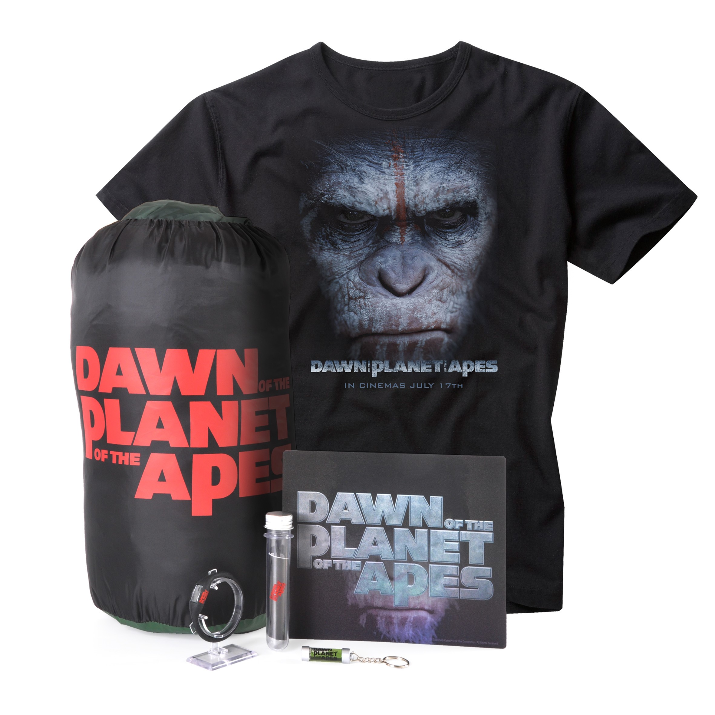 Dawn Of The Planet Of The Apes Packshot