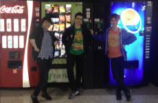 We made it to SXSW! Greeted at the airport by Austin's world famous vending machines!