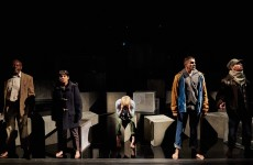The Company of Fall of the Kingdom, Rise of the Foot Soldier production photos_Photo by Richard Lakos _c_ RSC