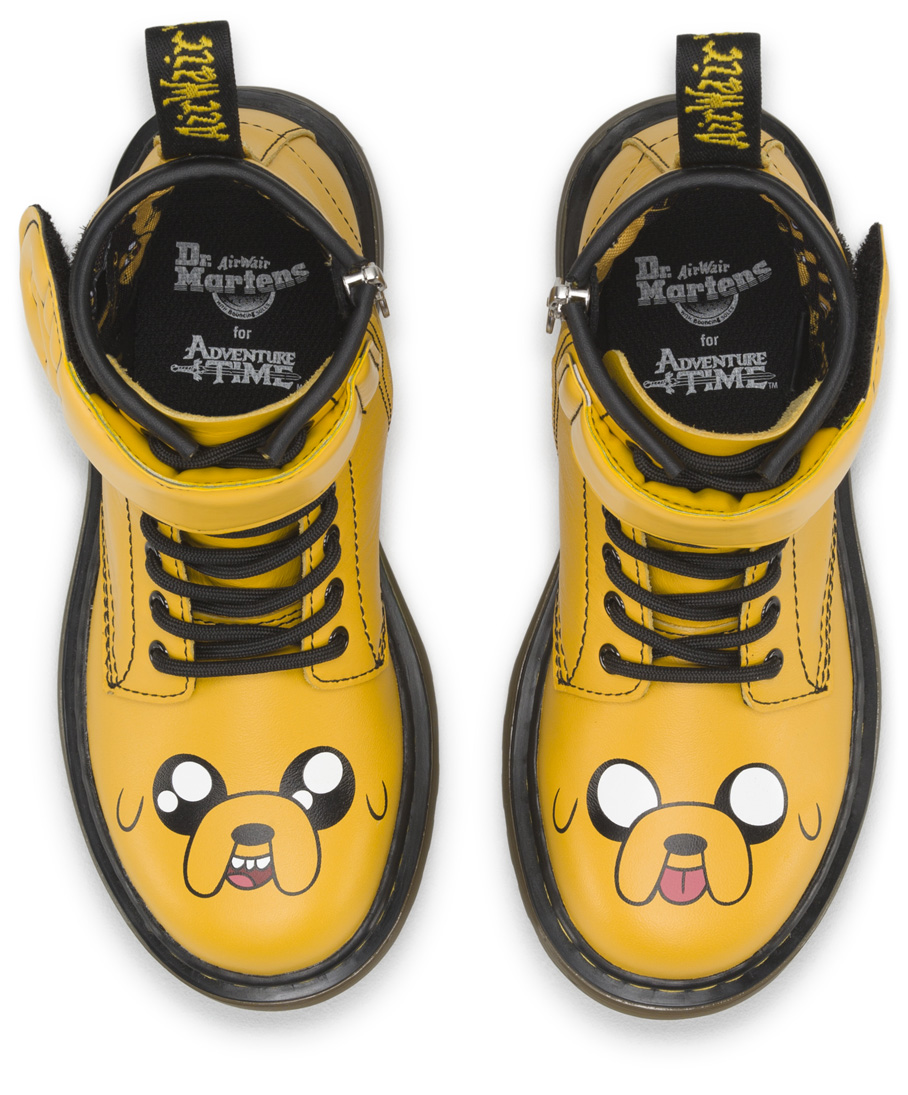 check out check out fashion style DR. MARTENS X ADVENTURE TIME - Fused Magazine